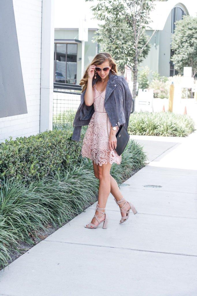 Pretty in Pink: Crochet Dress