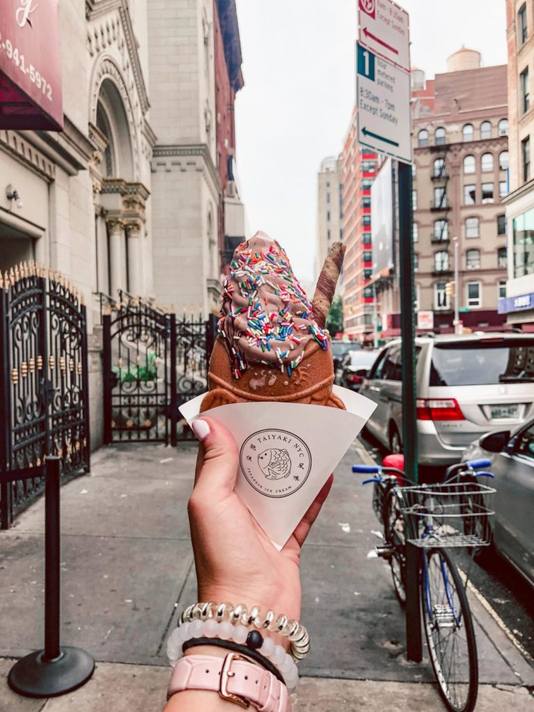 Where to eat in NYC, Taiyaki NYC chocolate soft serve