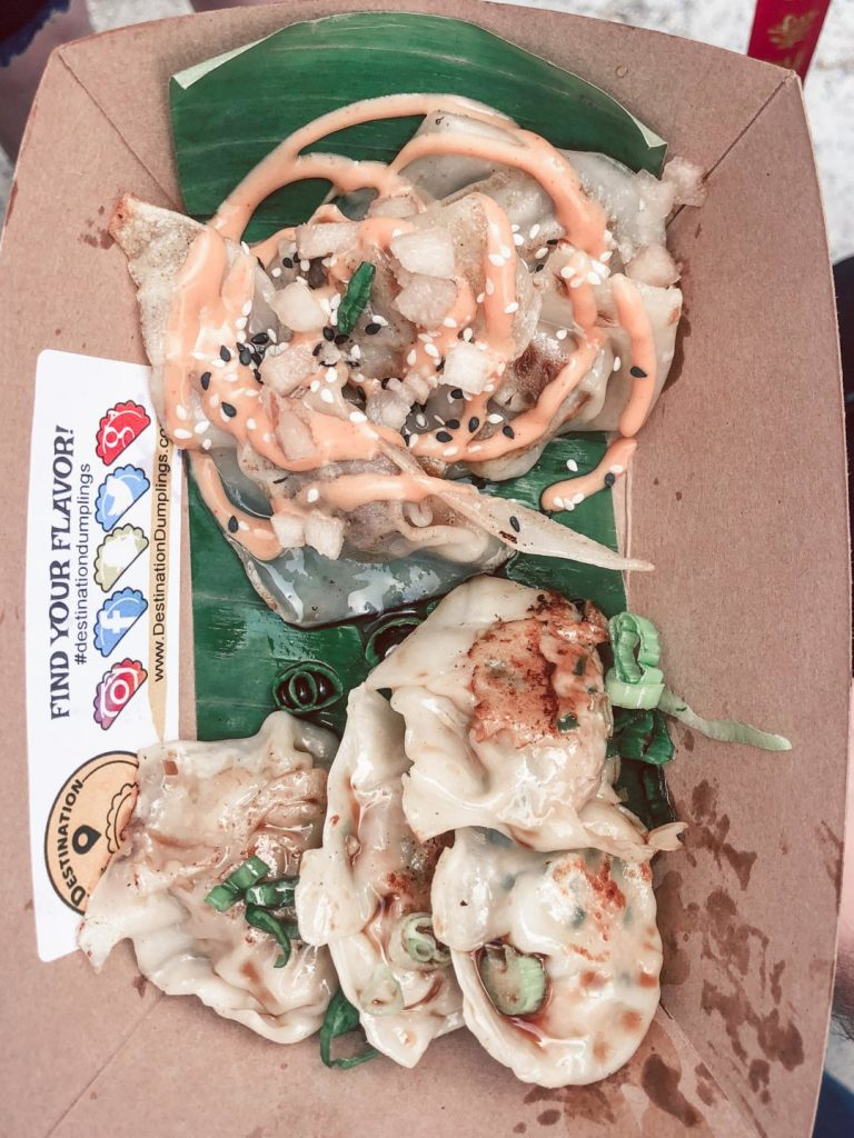 Where to eat in NYC, Smorgasburg pot stickers