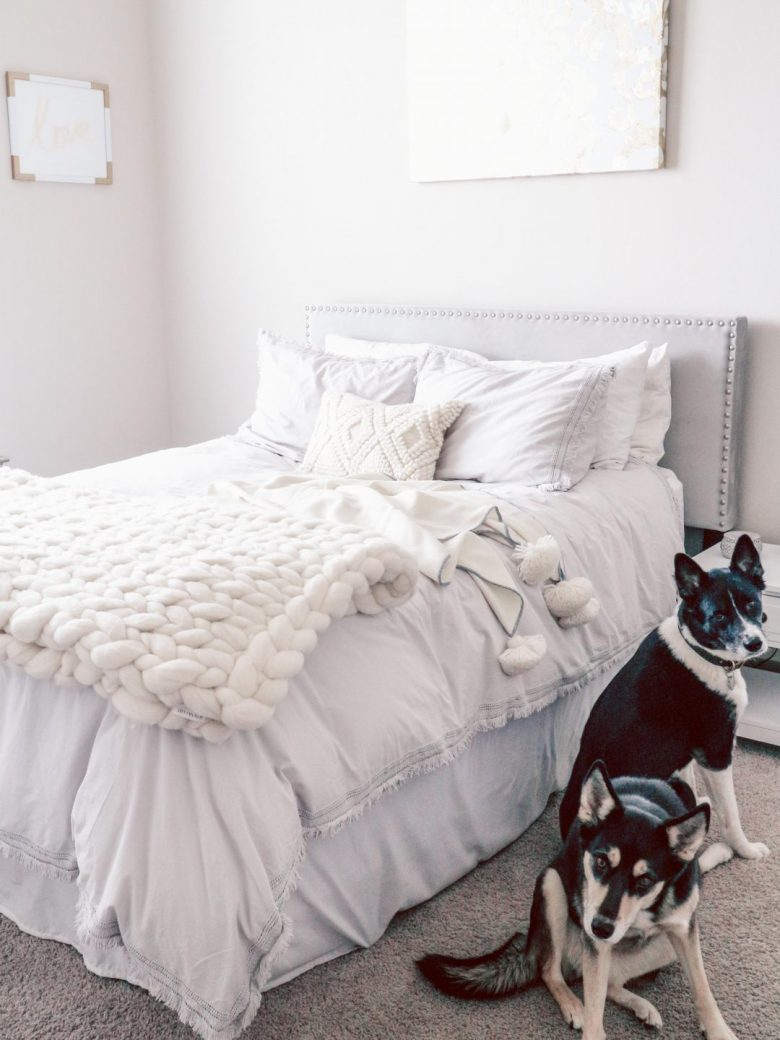 Serena and Lily Bedding Review featured by top US life and style blog, Running in Heels