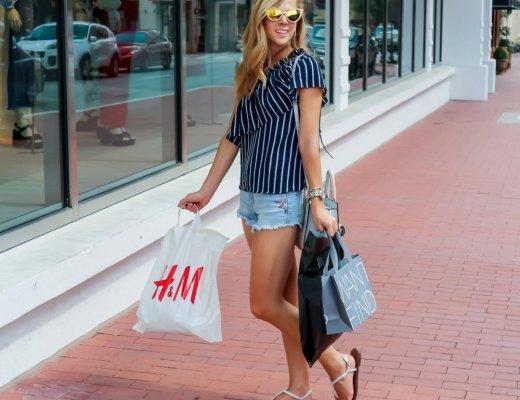Shopping in Sundance Square | Running in Heels