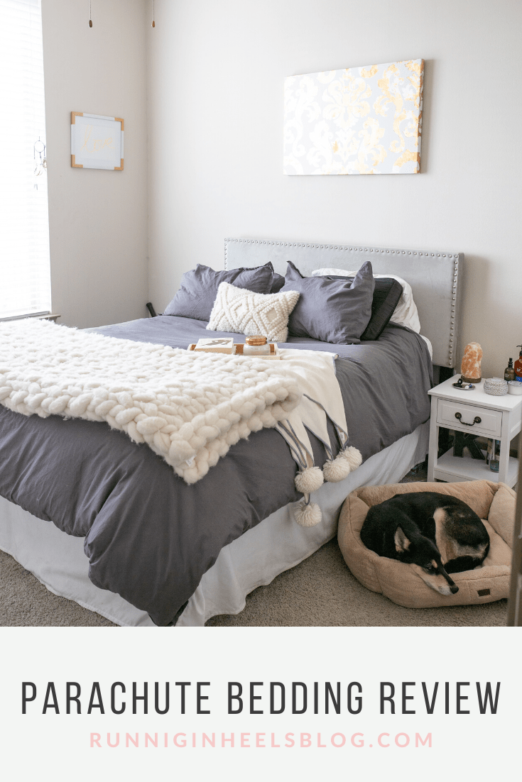 Parachute Bedding Review featured by top Dallas lifestyle blog, Running in Heels