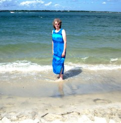 Mom at Atlantic Beach 2