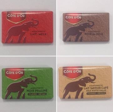 Four Belgian Chocolates