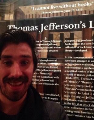 Jefferson Library Selfie