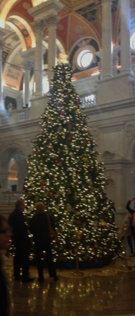 Library of Congress 2016 Christmas Tree
