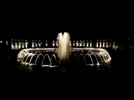 World War II Memorial Plaza Fountain