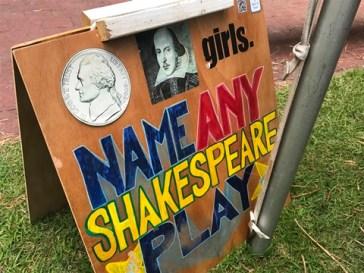 Nickel Shakespeare Girls sign 2