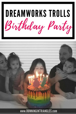 Dreamworks Trolls Inspired Birthday Party