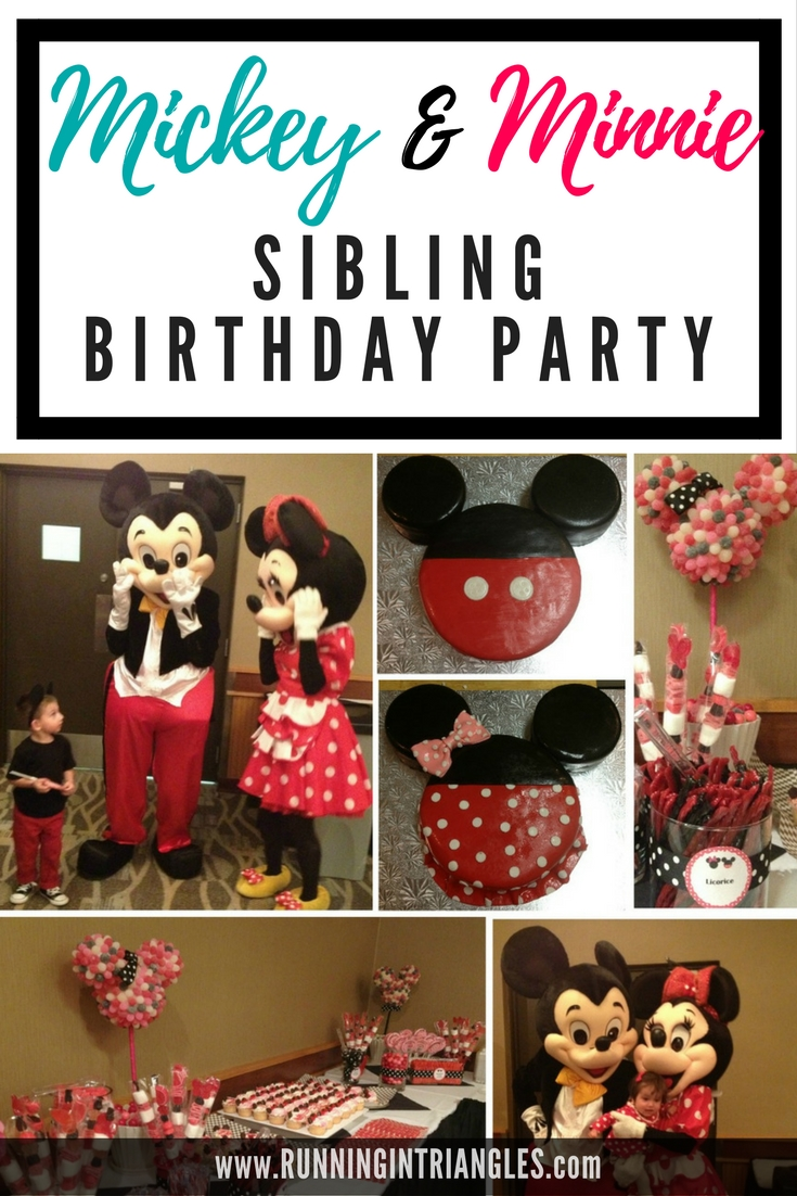 Combined Sibling Birthday Parties