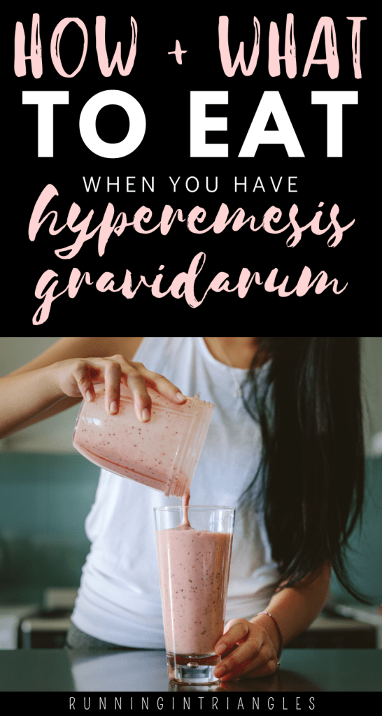 The Hyperemesis Gravidarum Diet