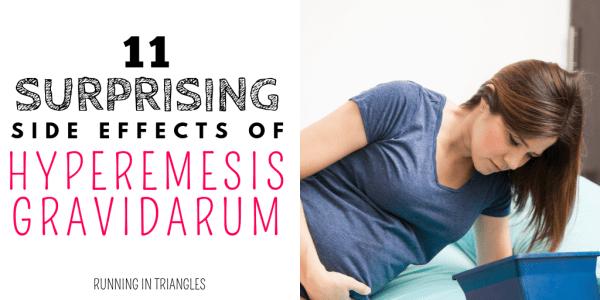 11 Surprising Side Effects of Hyperemesis Gravidarum