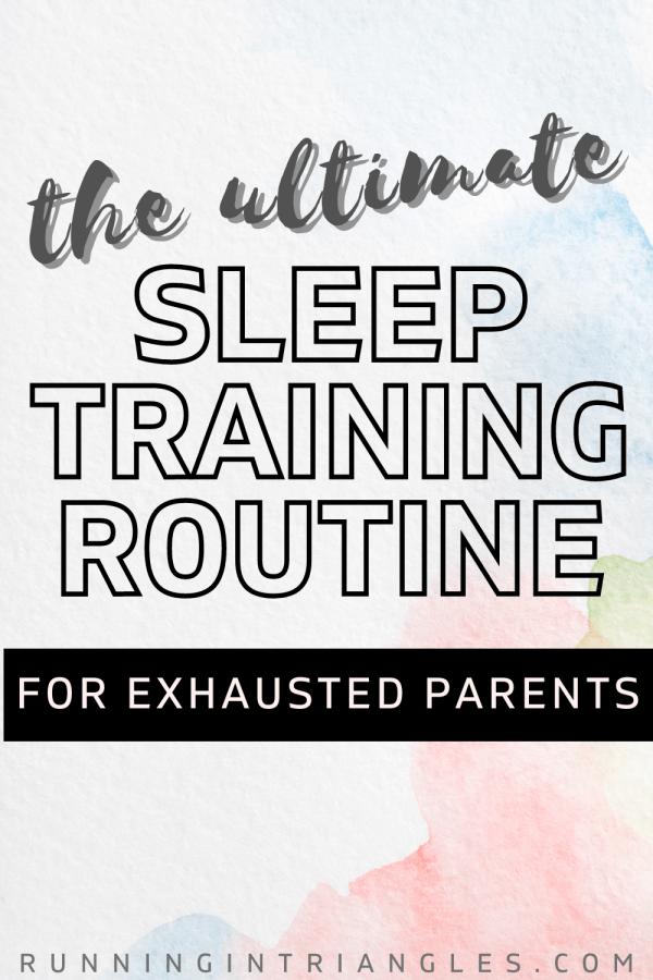 Sleep Training Routine