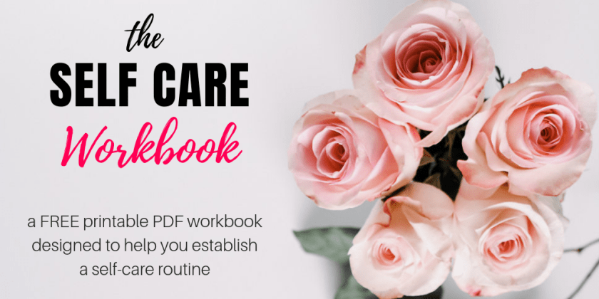 My Self Care Workbook - A Free Printable PDF