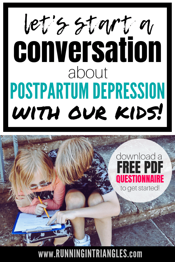How to Talk to Your Kids About Postpartum Depression