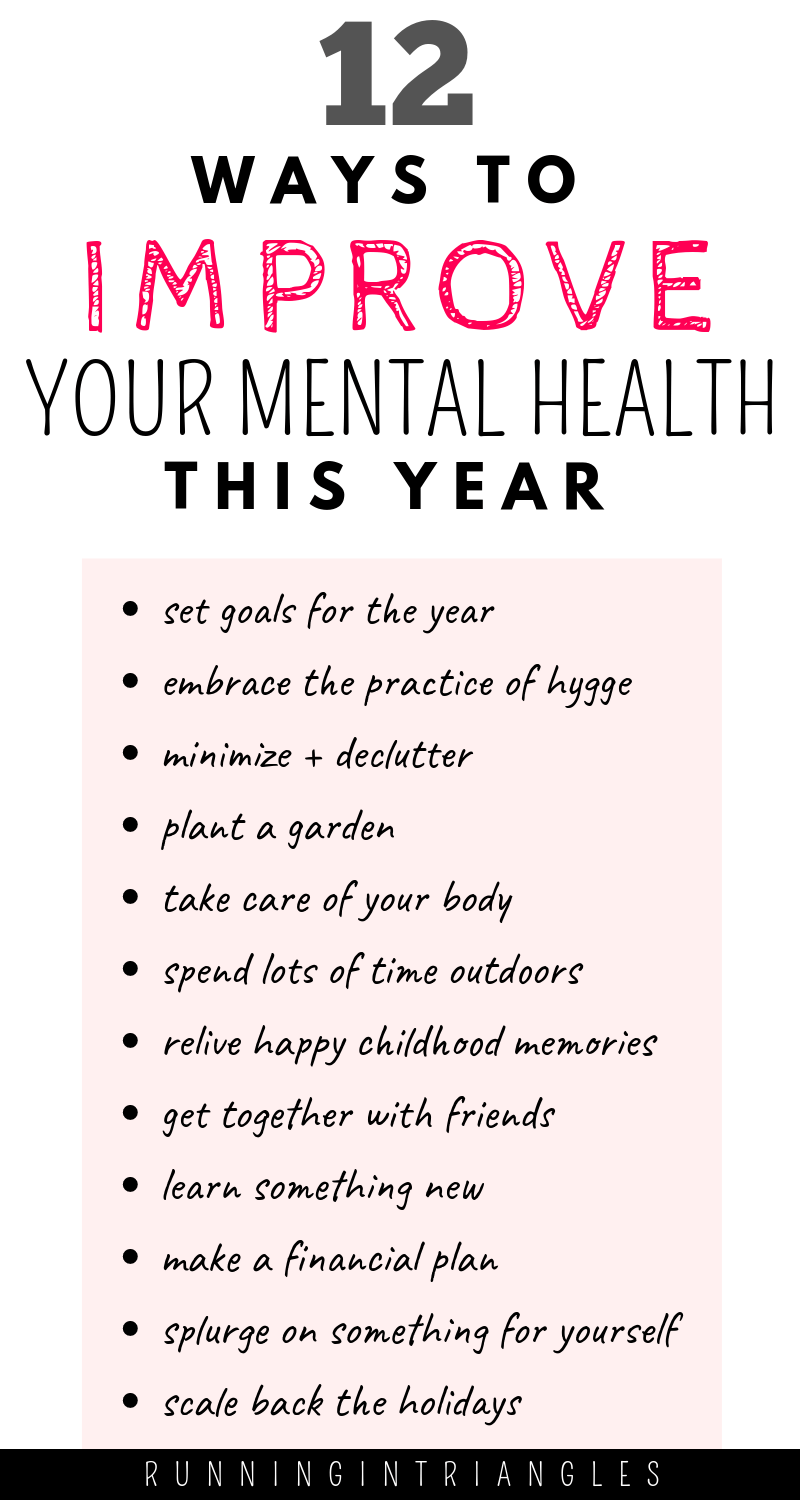 12 Ways to Improve Your Mental Health