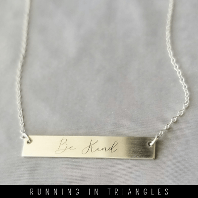 Be Kind Necklace by Sincerely Silver