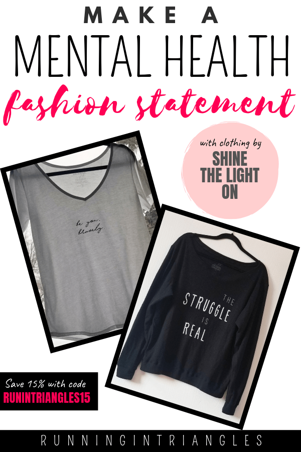 Make A Mental Health Fashion Statement with Shine the Light On