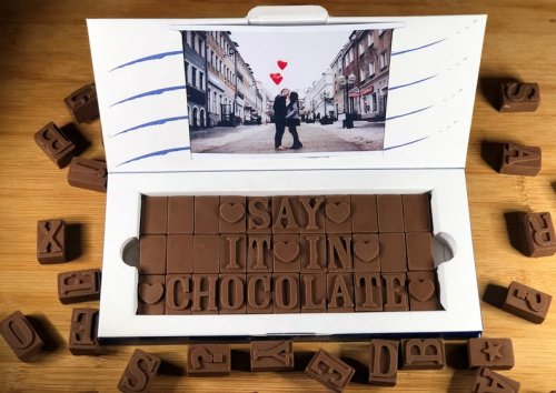Say It In Chocolate - Personalized Chocolate Message