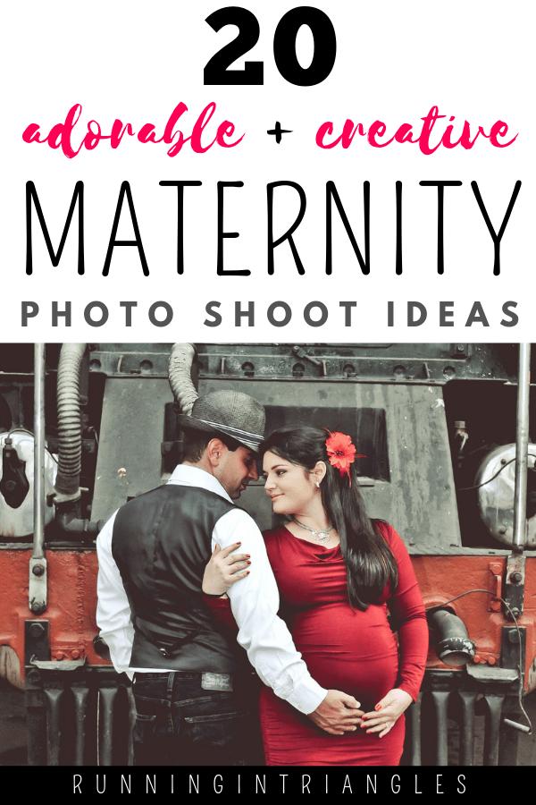 20 Adorable And Creative Maternity Photo Shoot Ideas