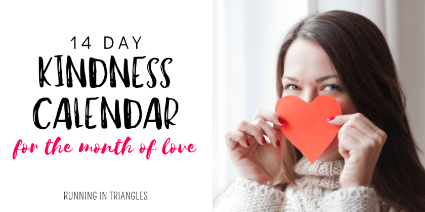 14 Day Kindness Calendar for the Month of Love