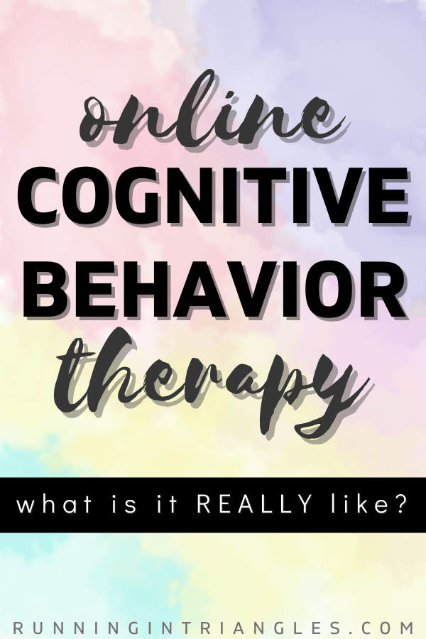 Online Cognitive Behavior Therapy