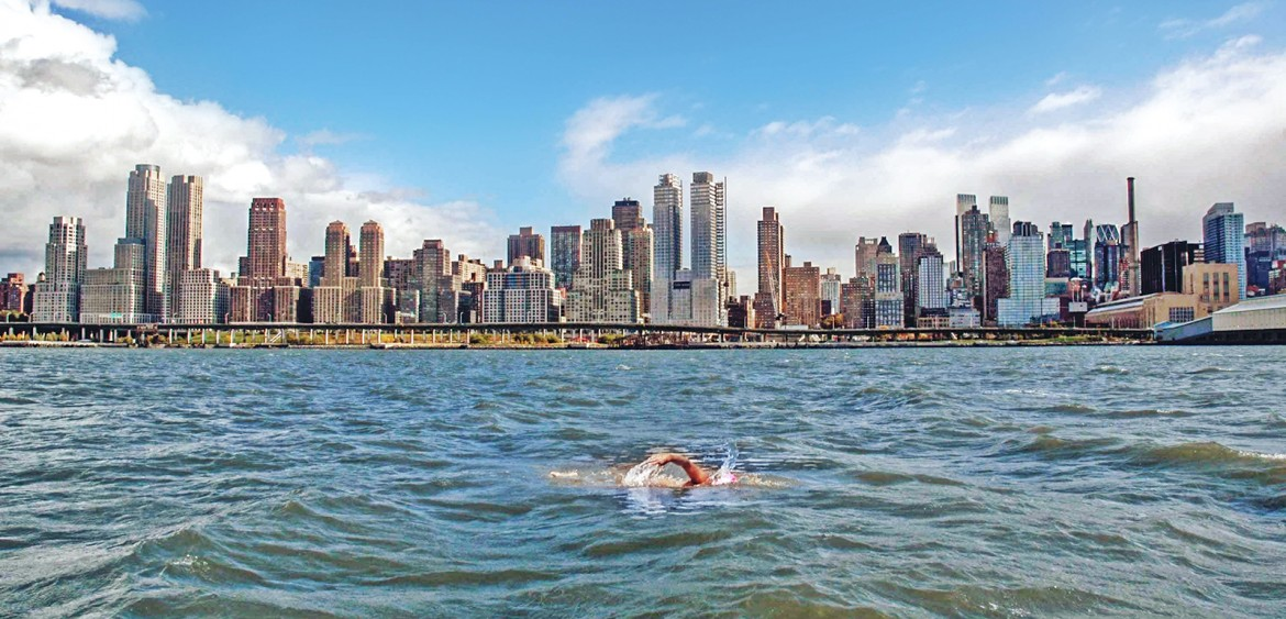 Manhattan Island Marathon Swim.