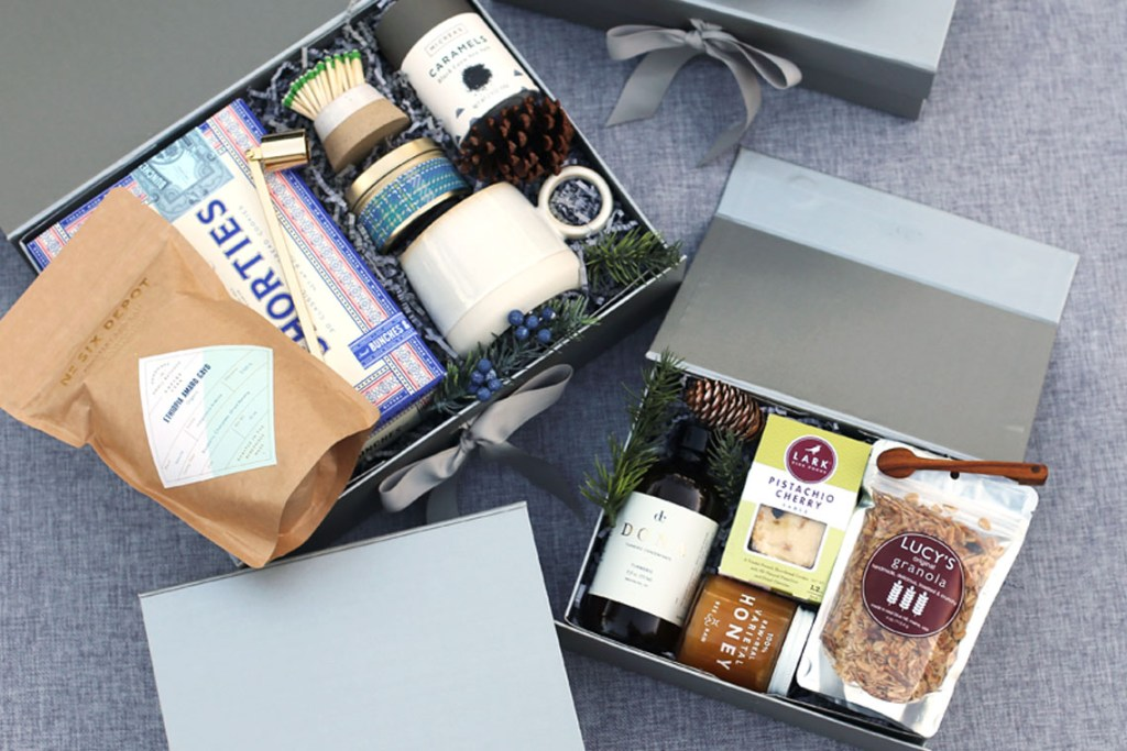 runningmen catering gift box services for corporate with personalised gift box