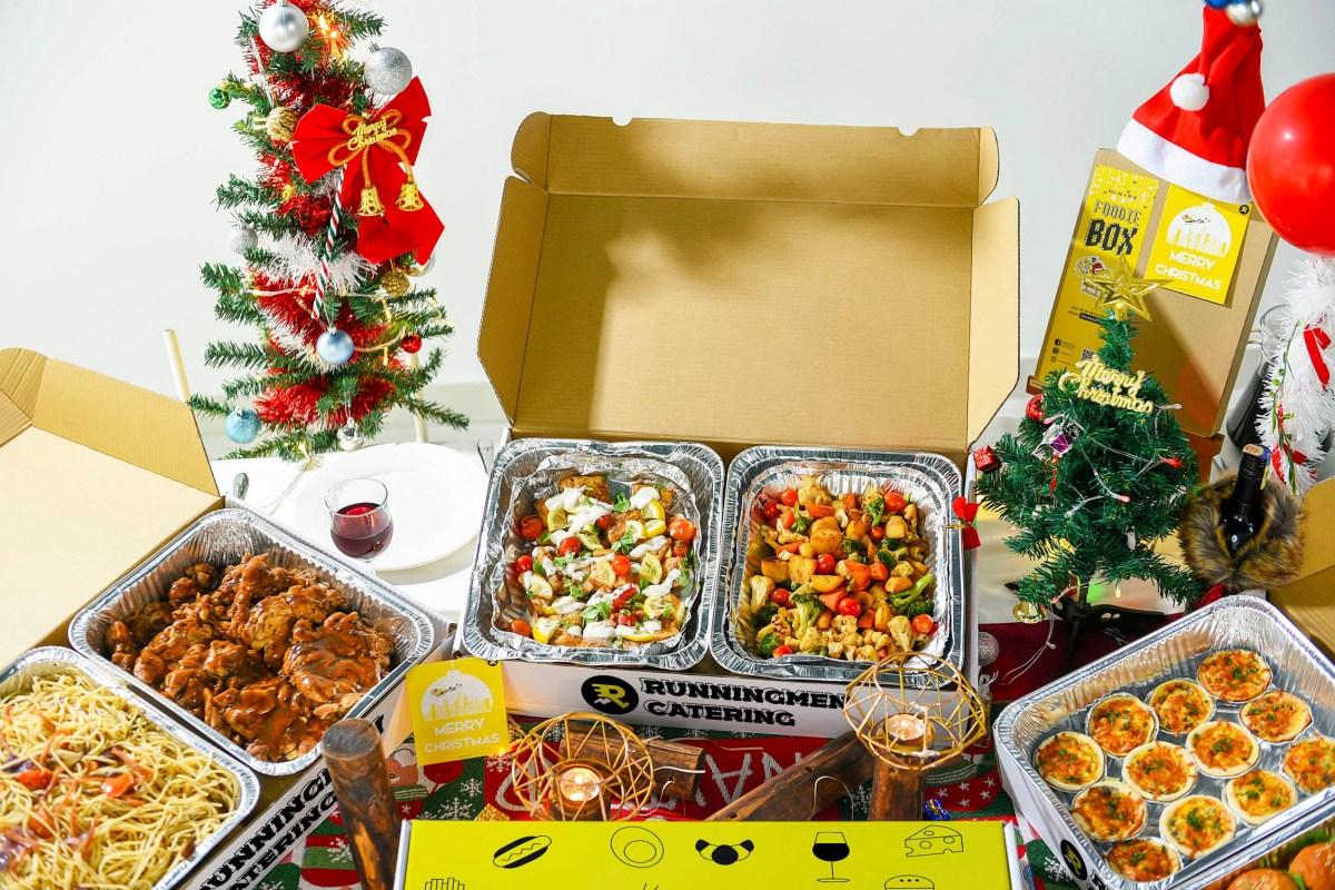 runningmen catering christmas 2020 catering box