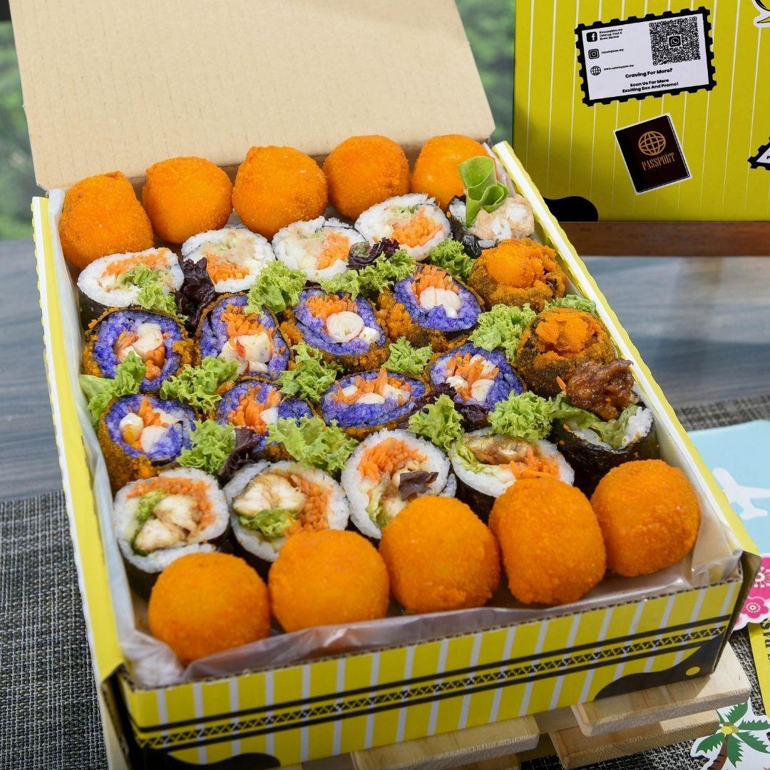 foodie box Small Korean Kimbap Box B