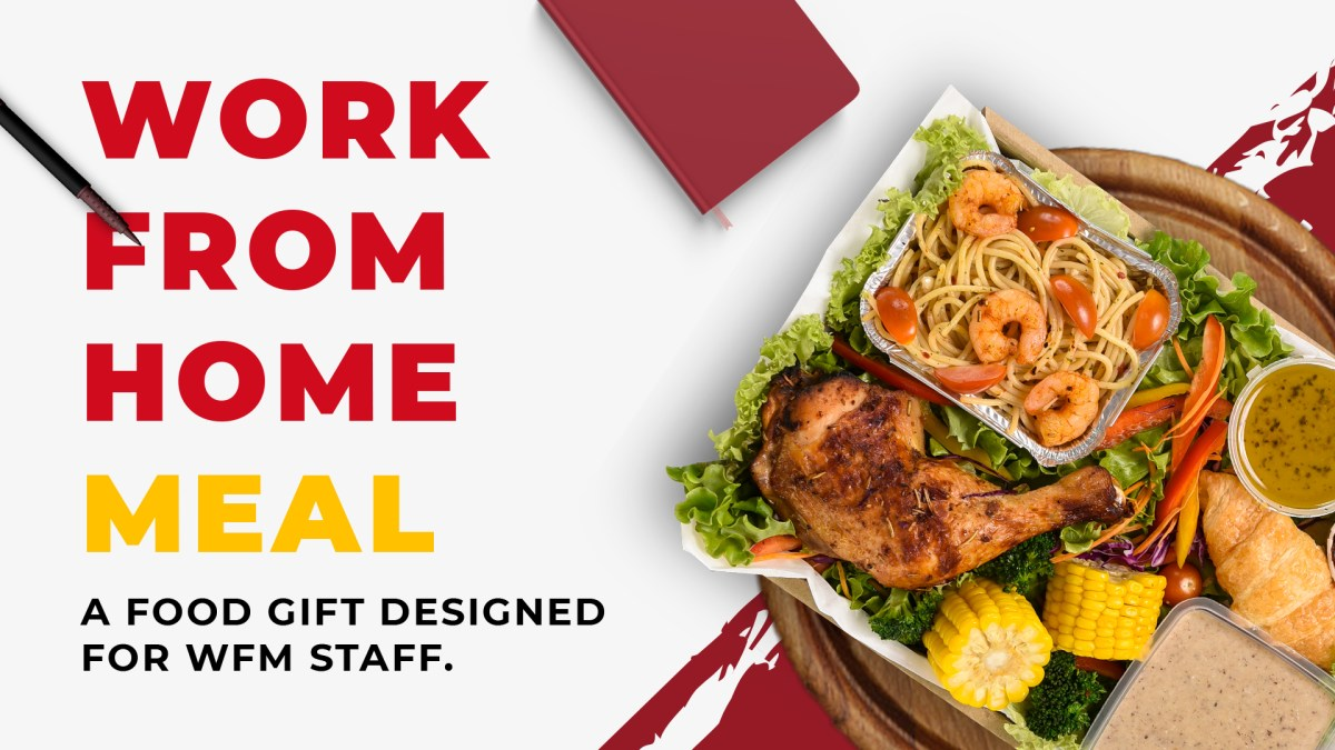 runningmen catering work from home meal