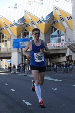 Rotterdam Marathon: Ein gezwungenes Lächeln für die Kamera