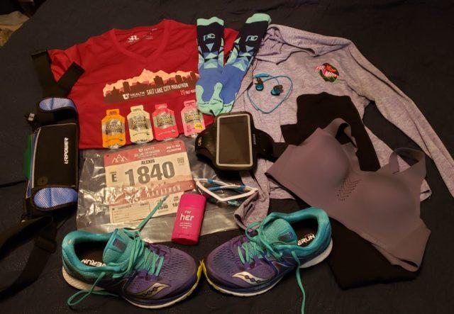 Salt Lake City Half Marathon Gear