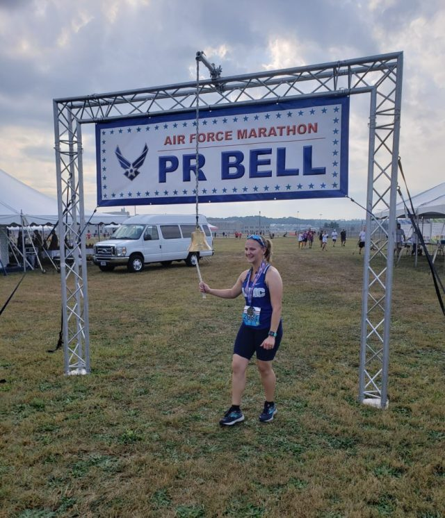 Air Force Half Marathon PR Bell