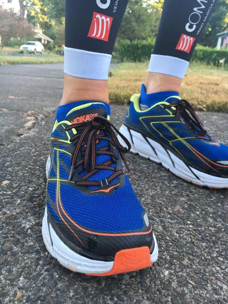 Hoka Clifton 3 On foot in run