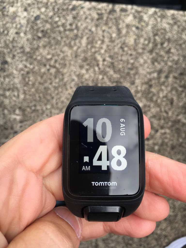 TomTom Spark Cardio Watch face