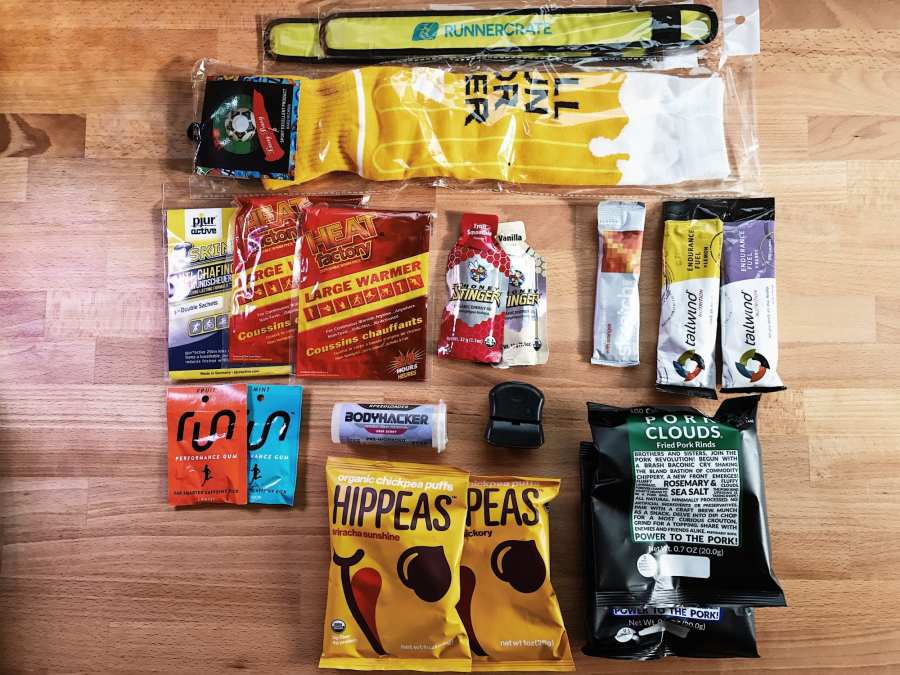 SubscriptionBox RunnerCrate Overhead