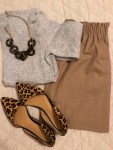 leopard trend, skirt fashion, casual, work wear, sweaters