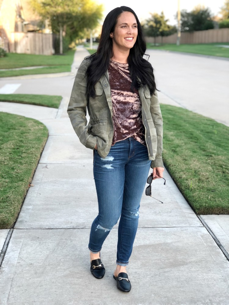 velvet trends, fall trends, easy fall outfit