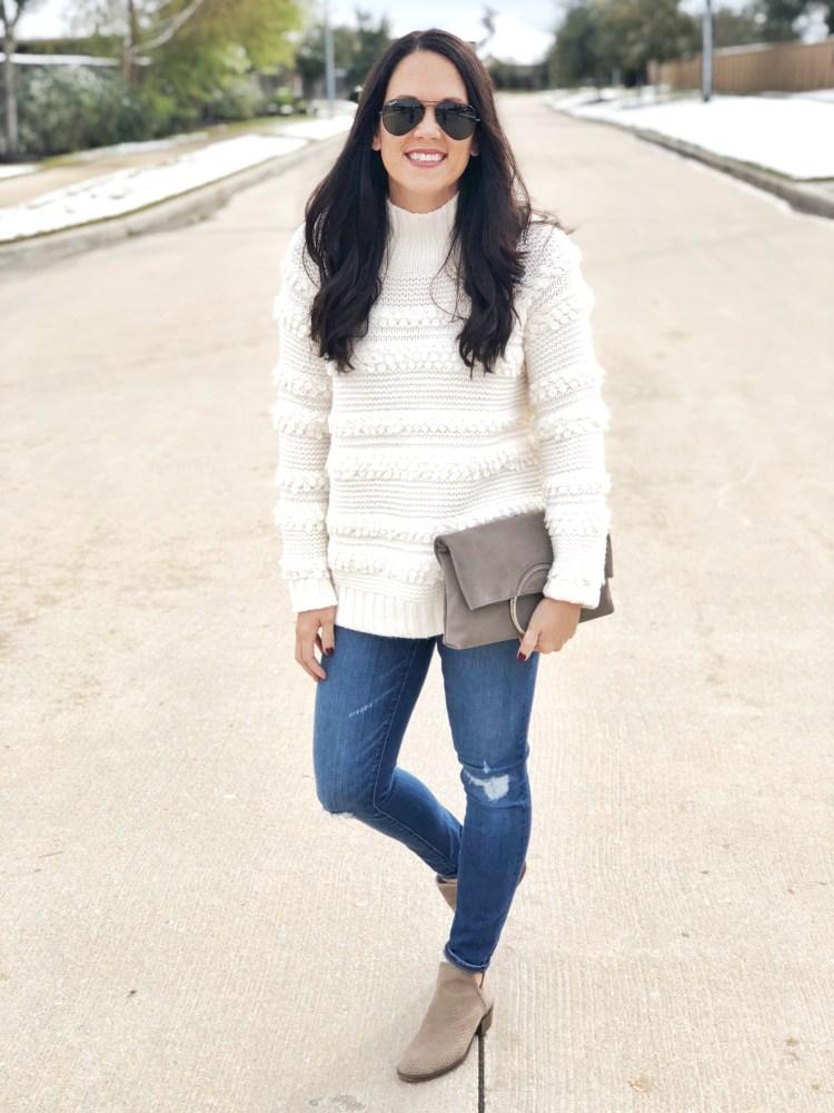 LOFT snow sweater