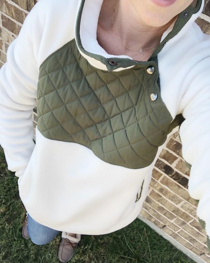 A&F pullover