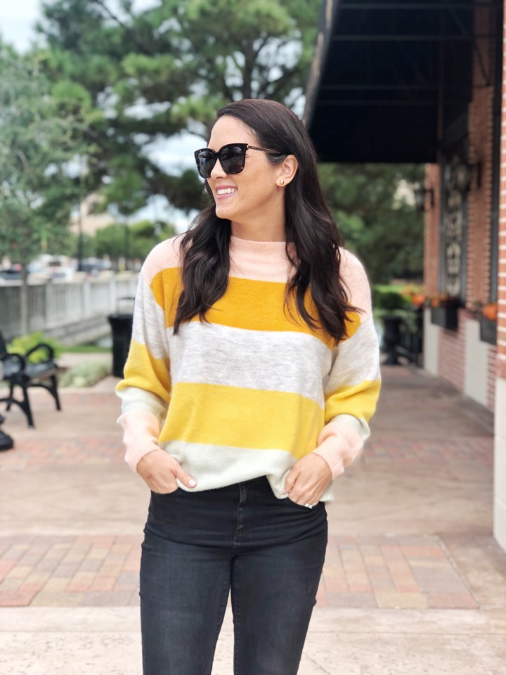 Fall Trend: The Color Block Sweater