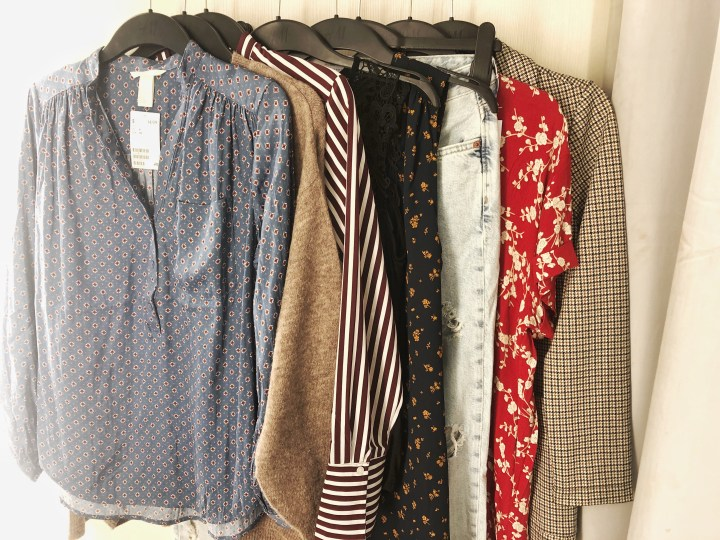 H&M Fall Trends: Dressing Room Try-On