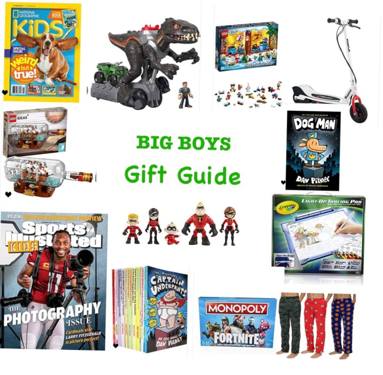 Big Boys Gift Guide