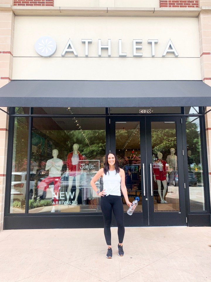 ATHLETA JUNE EVENT AND TRY ON