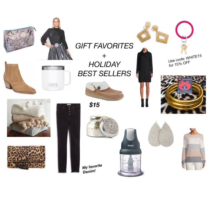 HOLIDAY BEST SELLERS + GIFT FAVORITES