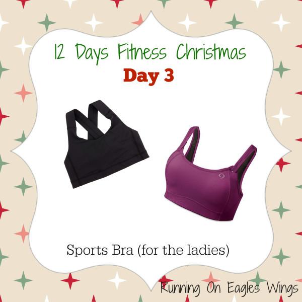 12 Days Fitness Christmas Day 3 - Sports Bra - Moving Comfort - Lululemon