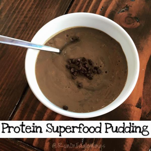 Protein Superfood Pudding with Amazing grass, Dairy Free treat!