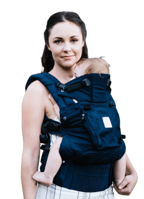LILLEbaby Complete Organic Blue Moonlight