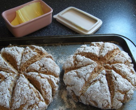 After - lovely with butter and jam